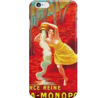 Vintage poster - Source Reine iPhone Case/Skin