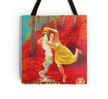 Vintage poster - Source Reine Tote Bag