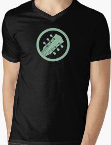 Guitar player green Mens V-Neck T-Shirt