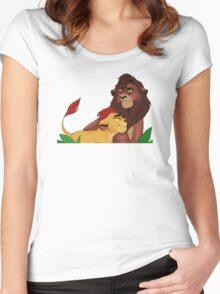 Kovu and Kion! Women's Fitted Scoop T-Shirt