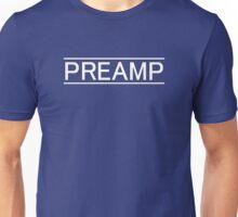 Preamp white Unisex T-Shirt