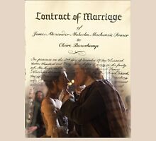 Wedding contract/Jamie & Claire Unisex T-Shirt