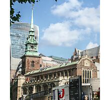 All Hallows by the Tower Photographic Print