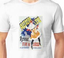 Vintage Jules Cheret 1886 Alcazar Déte Unisex T-Shirt