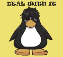 Deal With It Penguin Kids Tee