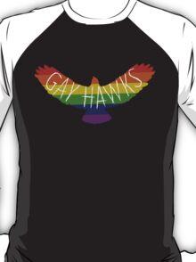 Gay Hawks rainbow T-Shirt