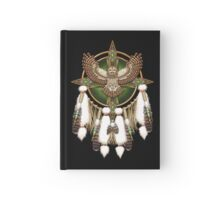 Barred Owl Native American Mandala Hardcover Journal
