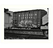 Wisconsin Central Art Print