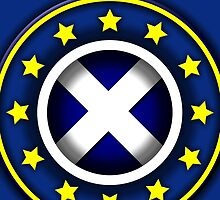 Scottish EU Badge Design 2 by Sookiesooker