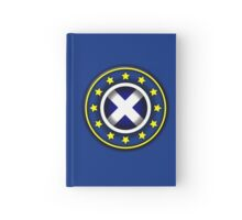 Scottish EU Badge Design 2 Hardcover Journal