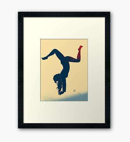 Yoga Girl  Framed Print