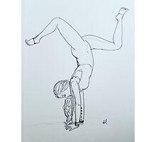 Yoga Girl 2.0  Photographic Print