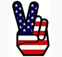 Hippie hand PEACE Unisex T-Shirt