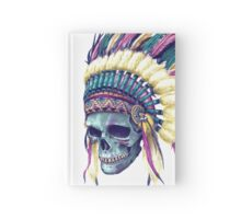 Native Skull Headdress Hardcover Journal