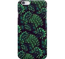 Cactus Floral - Green iPhone Case/Skin