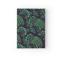 Cactus Floral - Green Hardcover Journal