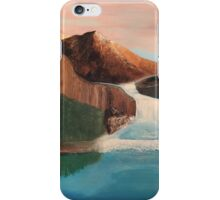 Waterfall in the Mountains iPhone Case/Skin