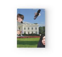 Youtuber white house mashup Hardcover Journal