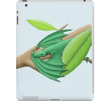 Tiny Green Tree Dragon iPad Case/Skin