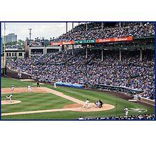 Cubs Baseball Photographic Print
