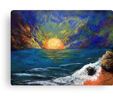 Seascape Fantasy Canvas Print