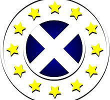 Scottish EU Badge Design 3 by Sookiesooker