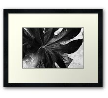 Reliable Framed Print