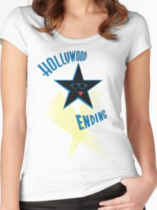 Dorky Star Women's Fitted Scoop T-Shirt