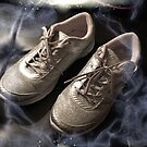 Arthritic silver dancing shoes by trisha22