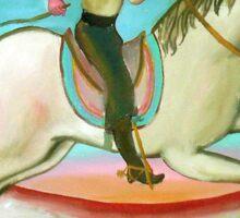 Gaucho a caballo 5 por Diego Manuel Sticker