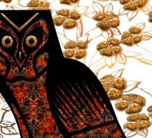 Owl Tapestry Sticker