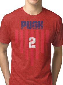 Mallory Pugh #2 | USWNT Olympic Roster Tri-blend T-Shirt