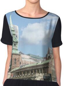 All Hallows by the Tower Chiffon Top