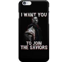 Join The Saviors iPhone Case/Skin
