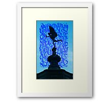 Picadilly Cupid Framed Print