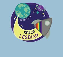 Certified Space Lesbian Unisex T-Shirt