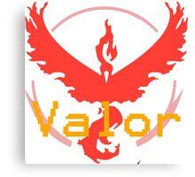 Team Valor - Pokemon GO! Canvas Print