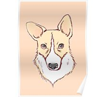 Zach the Corgi Poster
