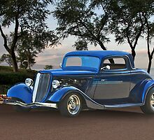 1934 Ford '3-Window' Coupe by DaveKoontz