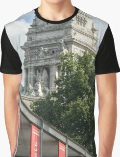 Port of London Authority behind Tower Ticket Sales Graphic T-Shirt