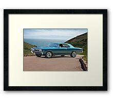 1967 Chevelle Super Sport SS396 Framed Print