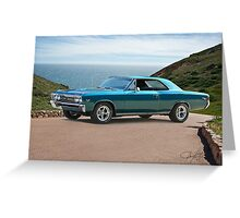1967 Chevelle Super Sport SS396 Greeting Card
