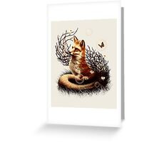 The Fox Tale Greeting Card
