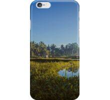 Sunrise over rice fields in Ubud, Bali iPhone Case/Skin