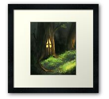 Warmth Inside Framed Print