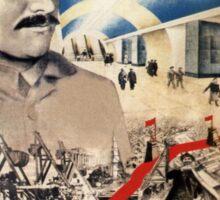 Vintage poster - Soviet Metro Sticker
