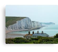 Seven Sisters Cliffs, East Sussex Canvas Print