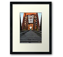 Brookshire Bridge Framed Print