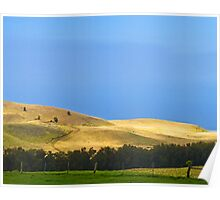 North end ranchland Poster