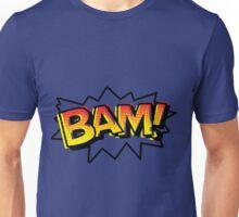 BAM! Comic Onomatopoeia Unisex T-Shirt